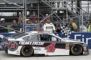 NASCAR Cup Rennbericht NASCAR in Dover: Kevin Harvick siegt nach Unterbrechung