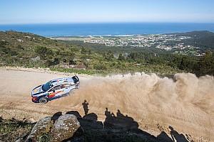 WRC レグ・レポート WRCポルトガル金曜:ヌービル首位。オジェ&トヨタ勢に相次ぐトラブル