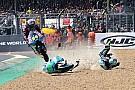 Moto3 Irrer Save: Moto3-Pilot Kornfeil rettet sich mit Sprung