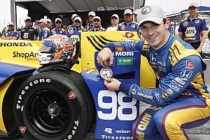 IndyCar Qualifying report Watkins Glen IndyCar: Alexander Rossi scores first IndyCar pole