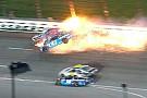 У пострадавшего в аварии гонщика NASCAR обнаружили перелом позвонка