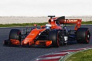 McLaren поменяла двигатель Honda после одного круга