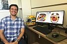 F1 La curiosa historia del diseñador brasileño del casco de Hamilton