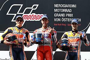 MotoGP Результати Турнірна таблиця MotoGP після Гран Прі Австрії
