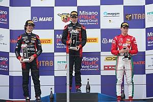 Formula 4 Gara Sebastian Fernandez firma la doppietta in gara 2 a Misano