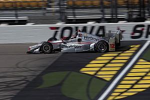 IndyCar Отчет о квалификации Пауэр выиграл квалификацию в Айове, Алешин шестой
