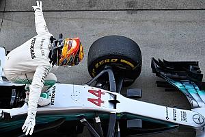 F1 Artículo especial Historia detrás de la foto: Hamilton bendecido con las vibras en Suzuka