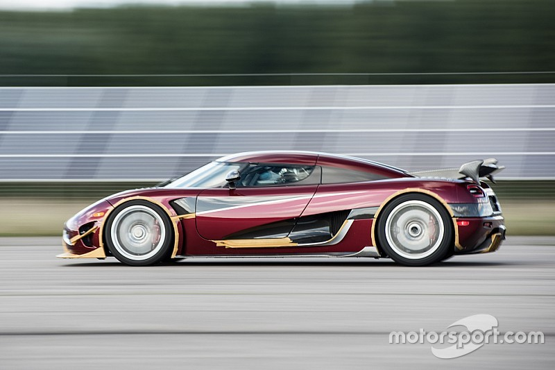 Koenigsegg pulverisiert Rekord von Bugatti und Montoya