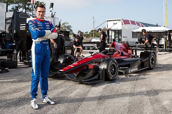 IndyCar «В этом году попробуем приехать выше». Обращение Алешина к болельщикам