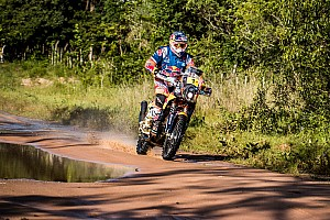 Dakar Stage report Dakar 2017, Stage 2: Price wins stage to grab bikes lead