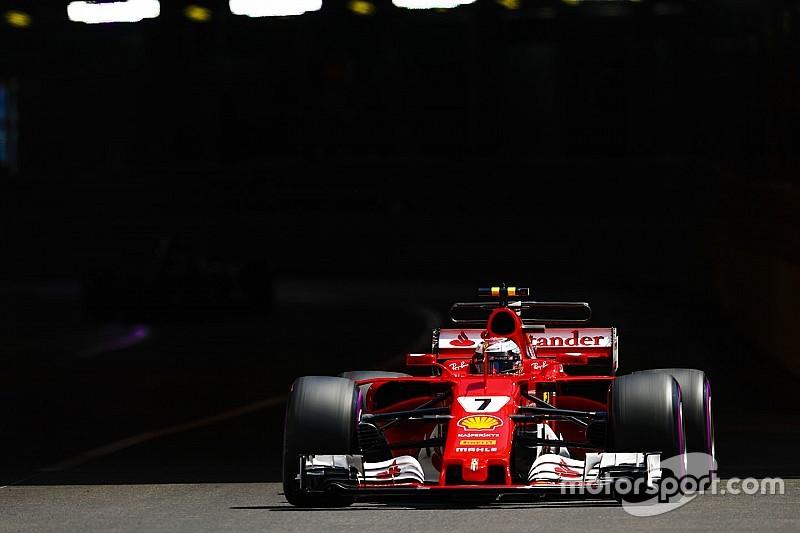 Räikkönen, en pole: