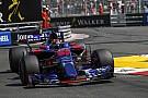 Kvyat critique la Toro Rosso malgré la performance de Sainz