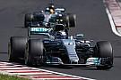 """F1 ハミルトン、""""ボッタスには2度と負けない""""。ハンガリーの敗北で決意"""