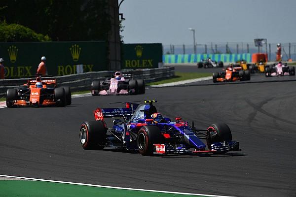 Формула 1 Технический анализ: как Toro Rosso бьется с тяжеловесами Ф1