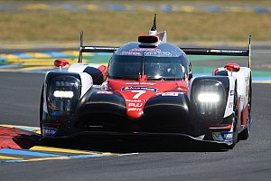 Le Mans Race report Le Mans 24h: Toyota holds 1-2 after opening hour