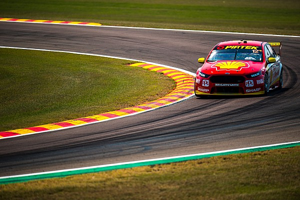 Darwin Supercars: Coulthard pips McLaughlin in Race 1