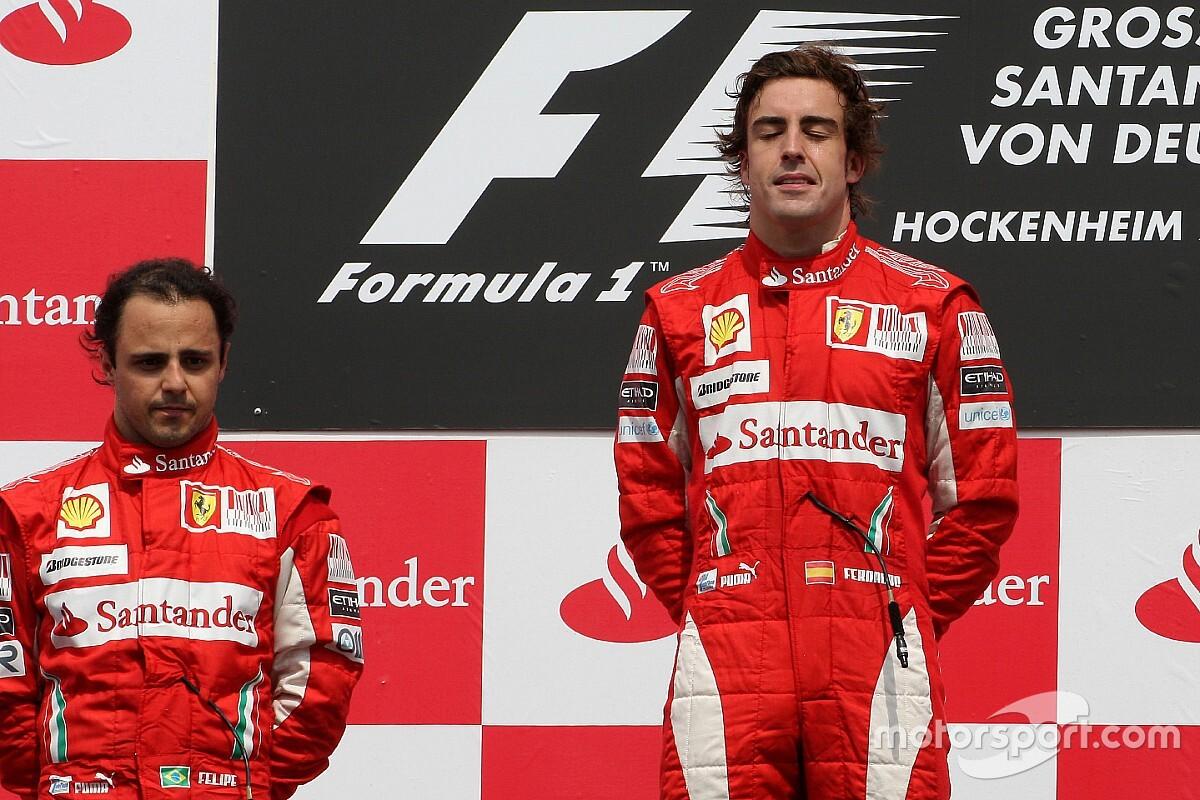Alonso'nun takım arkadaşlarına yönelik performansı