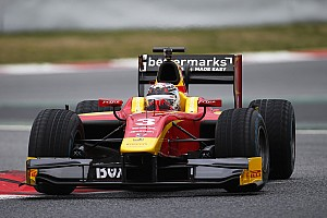 FIA F2 Testing report A very successful three days of testing for Racing Engineering at Barcelona