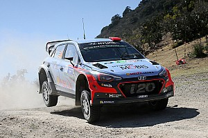 WRC Race report Podium hat-trick for Hyundai Motorsport as Dani Sordo rides Mexican wave to third