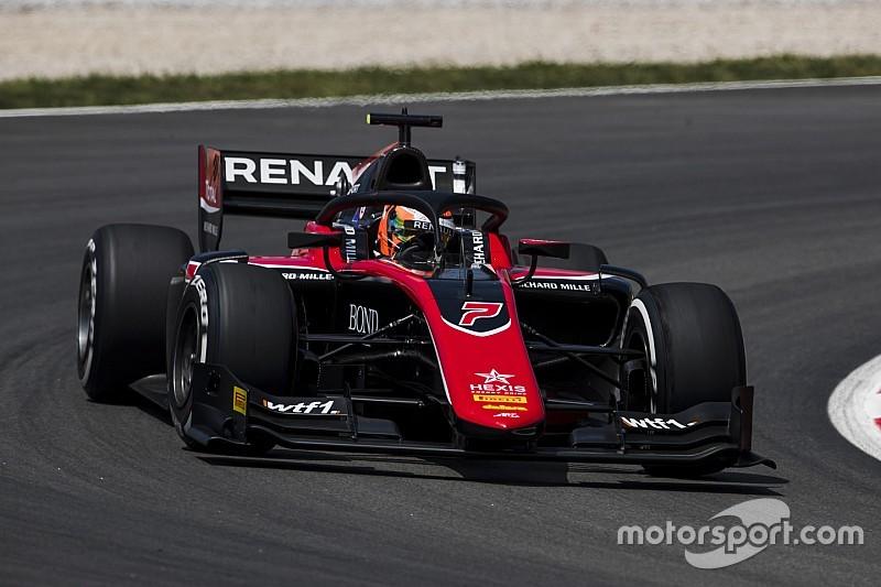 Barcelona F2: Aitken scores maiden win in sprint race