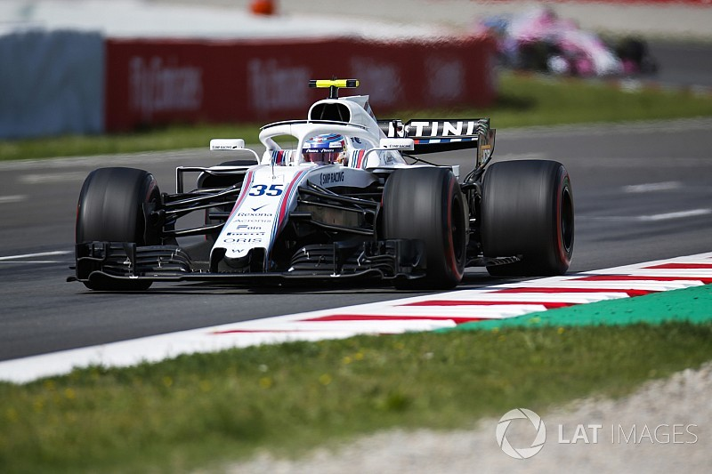 "Sirotkin had ""very painful"" seat problem in Spanish GP"