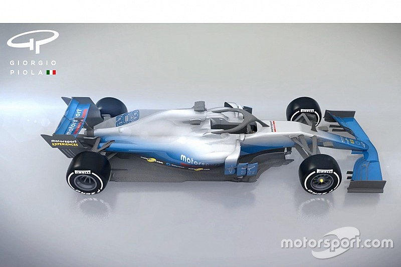 Animazione: scopriamo come cambieranno le F1 con le regole 2019