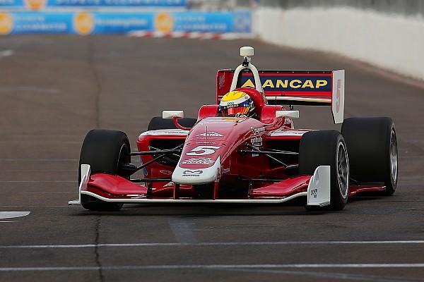 Indy Lights Race report St. Pete Indy Lights: Urrutia wins Race 2, Andretti aces slip up