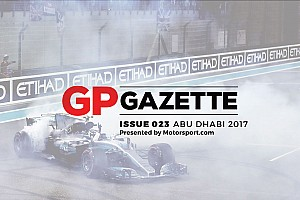 Formula 1 Breaking news Abu Dhabi GP: Issue #23 of GP Gazette now online