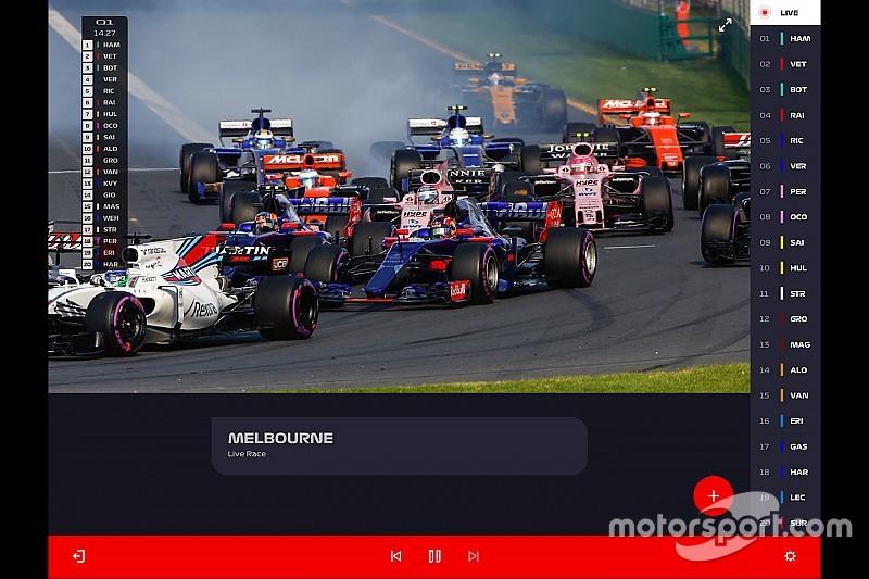 F1'in yeni ücretli yayın servisi Türkiye'de de olacak!