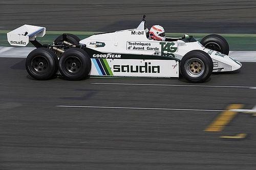 Williams celebrates 40th anniversary at Silverstone