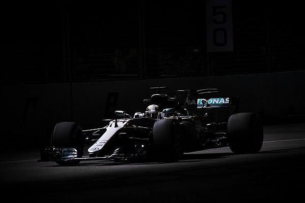 F1 2017 in Singapur: Mercedes tappt nach schwacher Qualifikation im Dunkeln