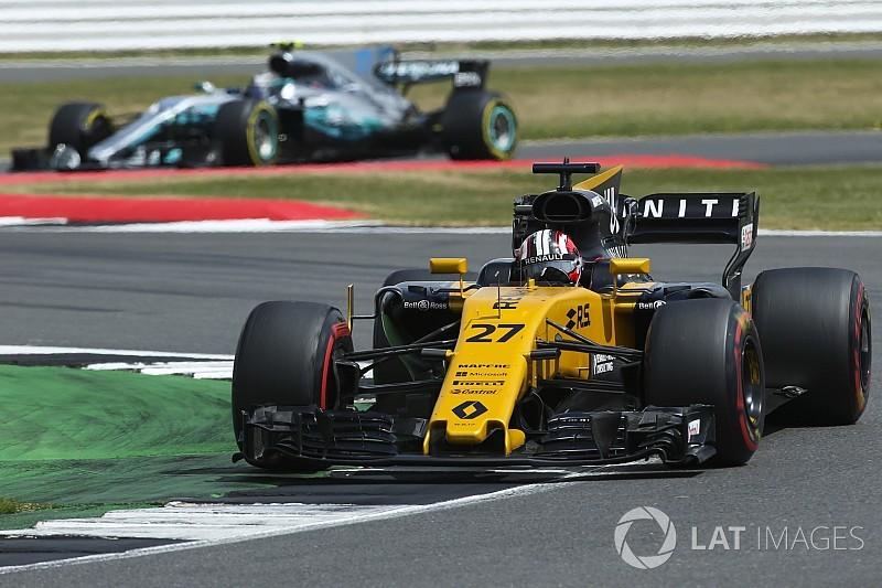 Hulkenberg: Güncellemeler Renault'yu ileri götürdü