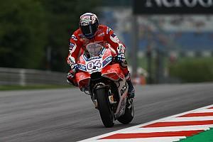 MotoGP Practice report FP2 MotoGP Austria: Dovizioso gusur Vinales, Rossi ke-12 lagi