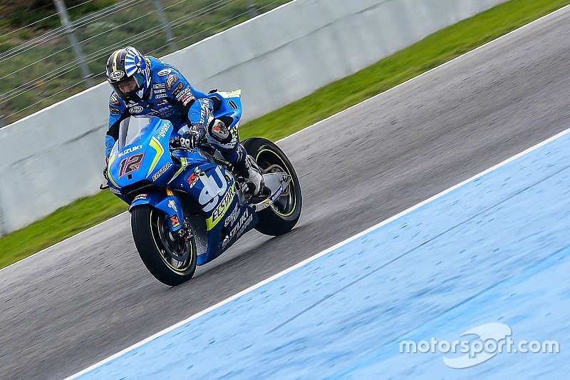 Hari terakhir tes MotoGP di Jerez diganggu hujan