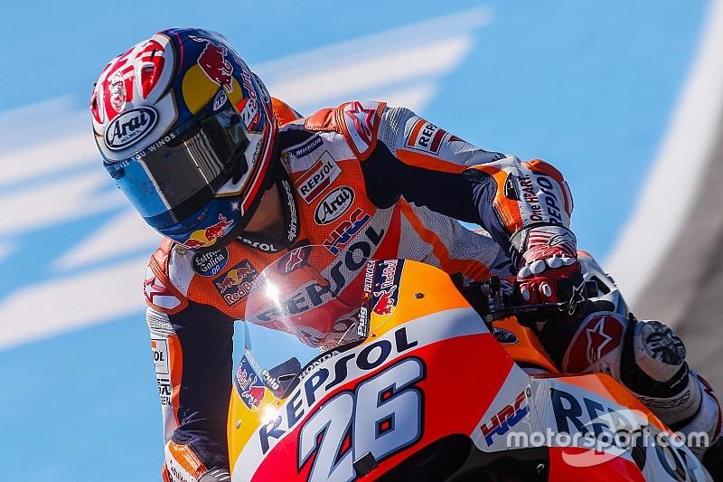 Échappements et pneus à l'essai pour Honda à Jerez