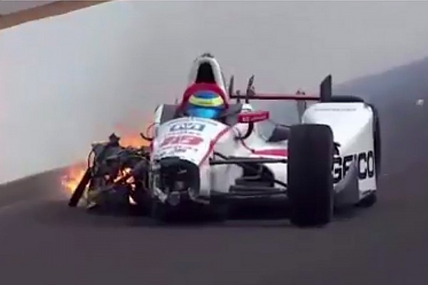 بالفيديو: بورديه يخضع لعمليّة جراحيّة بعد حادثه الخطير في تصفيات إندي 500
