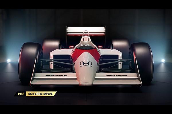 إعلان موعد إطلاق لعبة الفورمولا واحد 2017 وتضمّنها لسيارات كلاسيكيّة