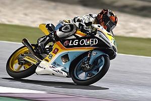 Moto3 Noticias de última hora Gabi Rodrigo se fractura la clavícula en el primer libre del año