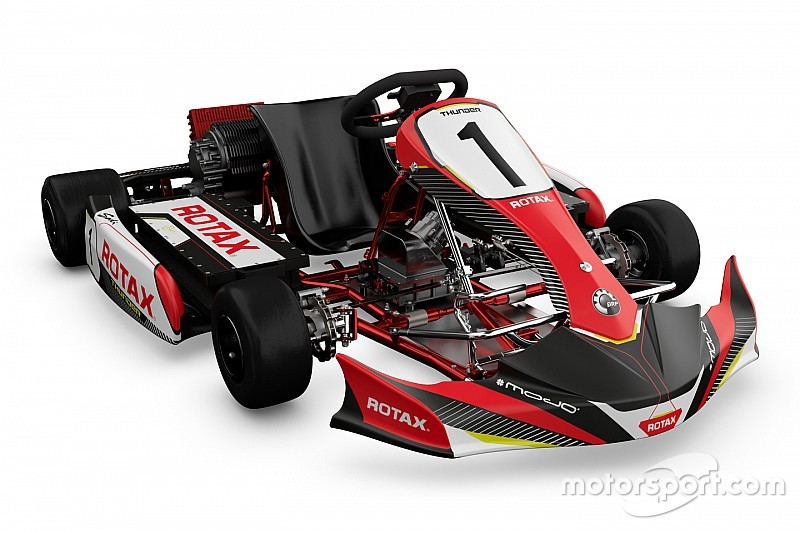 Brp launches rotax electric powerpack for e kart racing for Go kart interieur quebec