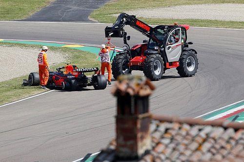 F1 Imola 2021: Perez-Ocon-Crash hinterlässt Fragezeichen
