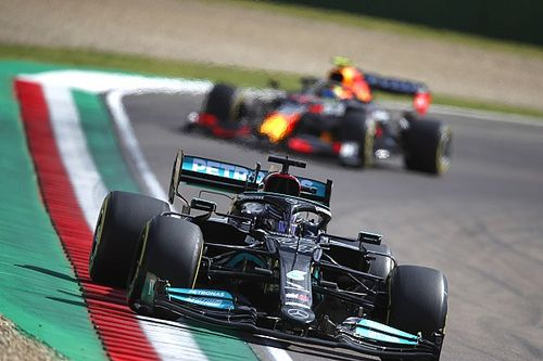 Grand Prix qualifying results: Hamilton takes pole in Imola F1