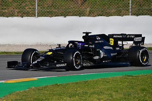 里卡多几乎压榨出雷诺新车的全部速度
