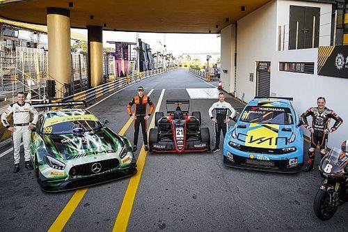 В эти выходные на «Моторспорт.ТВ»: брат Леклера, сын Монтои и четыре россиянина