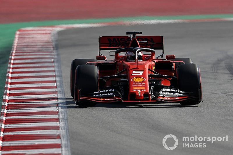 Vettel sets fastest time so far in F1 testing