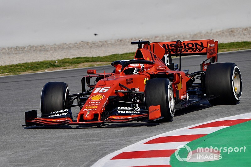 Leclerc snelste op tweede testdag Barcelona, Gasly crasht