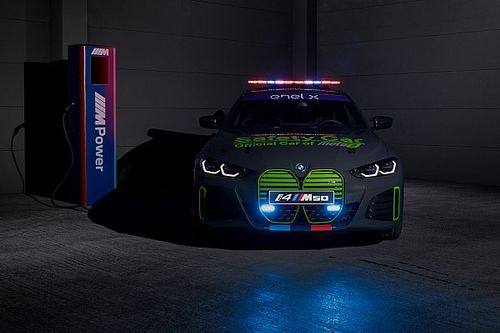 BMW M reveals fully-electric safety car for MotoE World Cup
