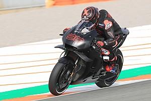 MotoGPバレンシアテスト初日:ビニャーレス首位。ホンダ加入ロレンソ18番手