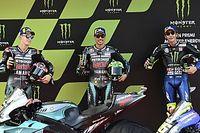 Barcelona MotoGP: Morbidelli takes pole, Rossi on front row