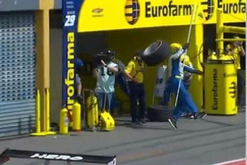 VÍDEO: Argentinos reagem a 'pneuzada' em chefe de equipe da Stock Car