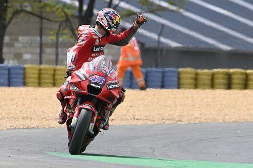 Ducati: Zwei Bestzeiten und drei Stürze am Trainingstag in Le Mans